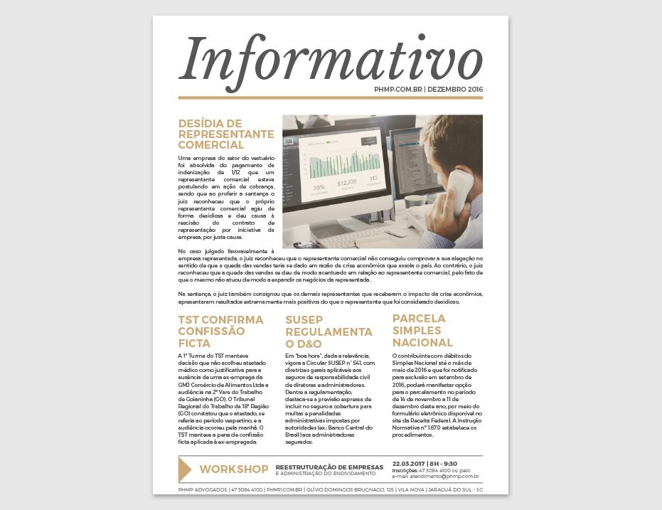 PHMP - Informativo - Dezembro - 2016