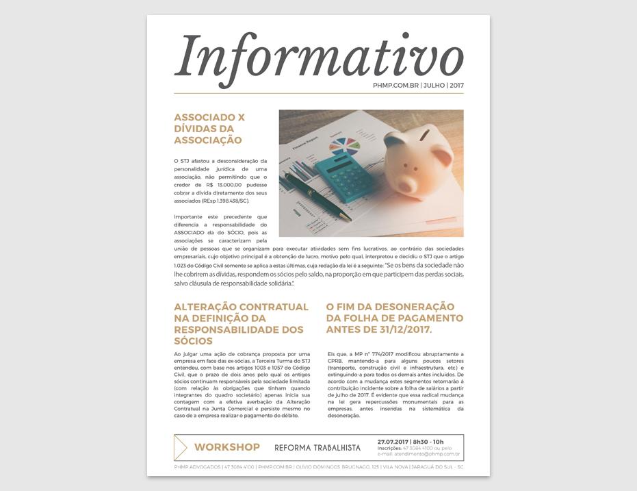 PHMP - Informativo - JuLho - 2017