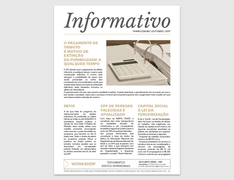 PHMP - Informativo - Outubro - 2017