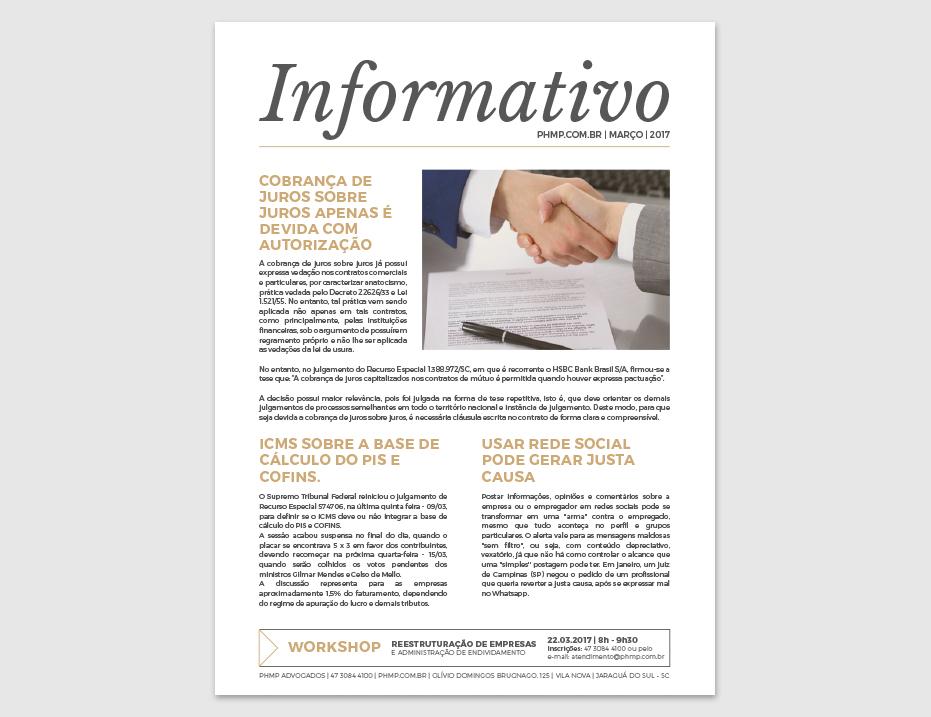 PHMP - Informativo - Março - 2017