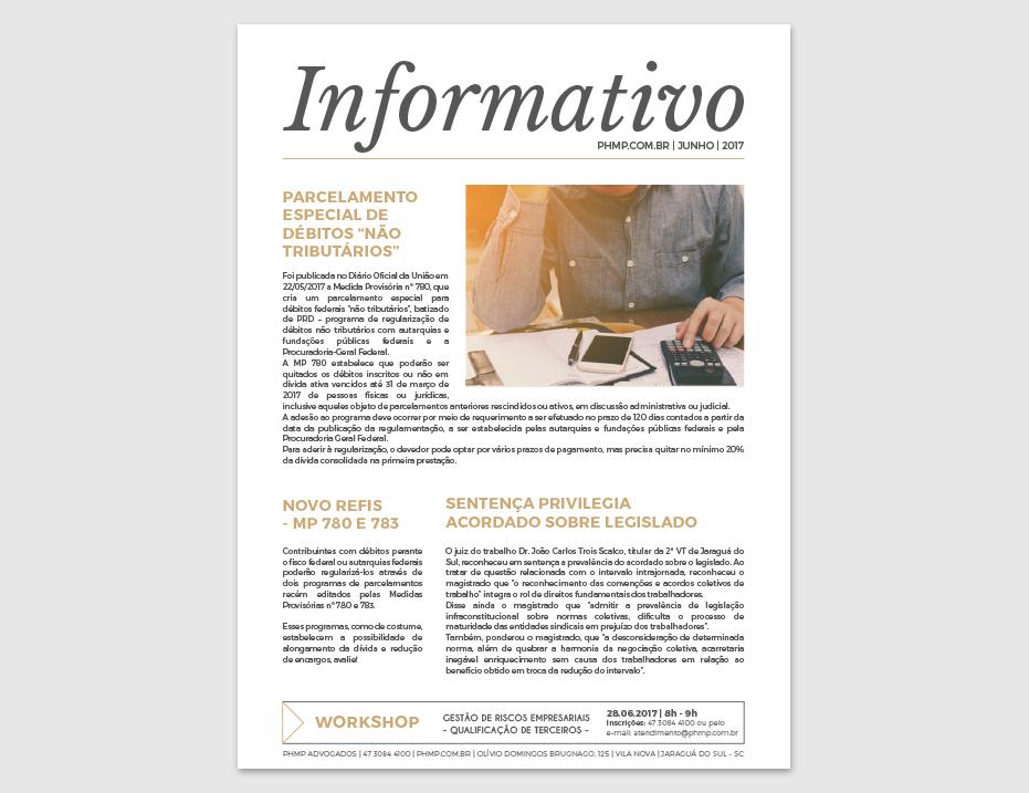 PHMP - Informativo - Junho - 2017